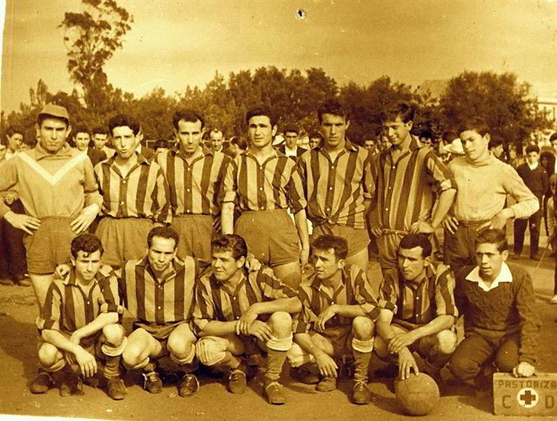 Equipo antiguo SCD Pastoriza