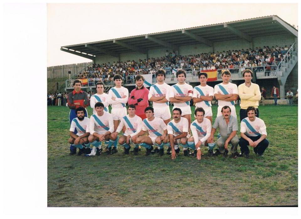 SCD Pastoriza Campeón Copa Arteixo 1985